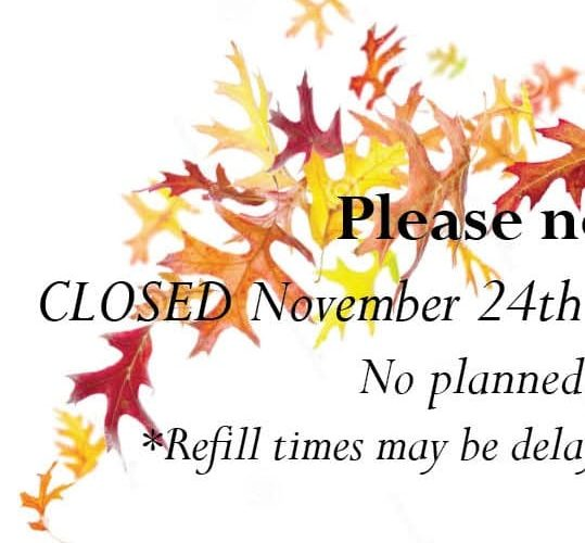 CLOSED January 2nd 2017 – Observance of New Years