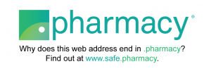 Why dos this web address end in .pharmacy?