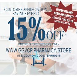 Customer Appreciation 15% OFF