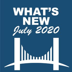 What's New - July 2020