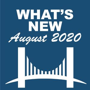 What's New - August