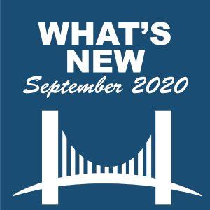 What's New - September 2020